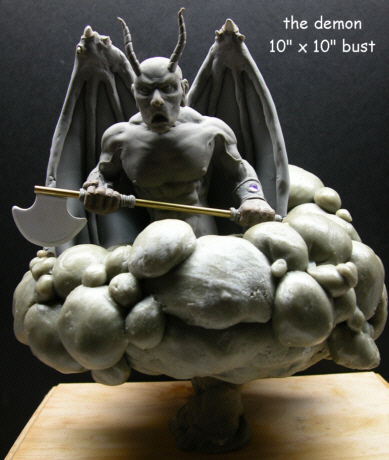 Onslaught Power From Hell Statue